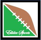 Elldee Logo Black Border White Letter